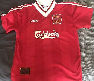 Adidas - Liverpool - Home - 1995/1996 -  Shirt - Size - L