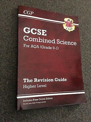 GCSE Combined Science Revision Guide - For AQA (Grade 9-1) CGP Higher Level