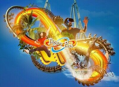 Thorpe Park Saturday 21 September 2 X Tickets By Email