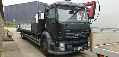 Volvo 18 ton scaffold flatbed 3 seats low miles NEW MOT air suspension DAF IVECO