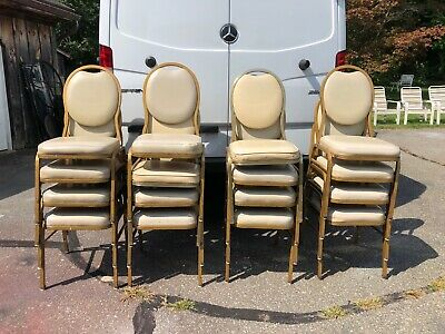 Vintage Shelby Williams Banquet Chairs c.1970's Sixteen (16) Stackable