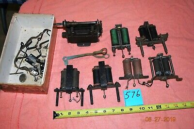 Coil Ringers Receiver Hanger Arm Other parts Antique wood wall Telephone (576)