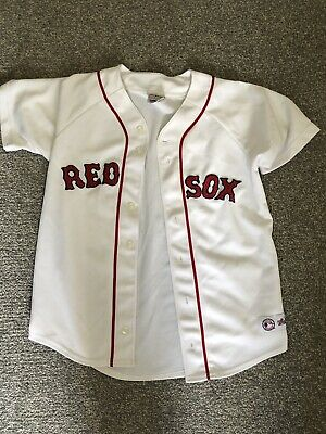 Official Boston Red Sox Baseball Jersey - Genuine merchandise By majestic