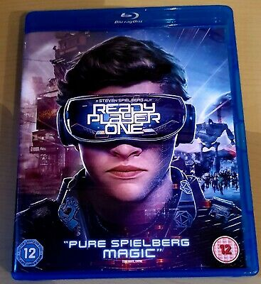 Ready Player One Blu-ray DVD boxed in great condition digital code unused