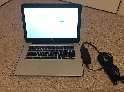 "HP Chromebook 14 G3 14"" Nvidia Tegra K1 2.1GHZ 4GB RAM 16GB Storage"