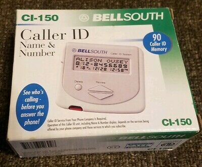 BellSouth CI-150 Caller ID System New, Sealed. FREE SHIPPING!