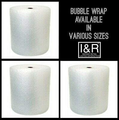 Bubble wrap rolls - Select Roll Width from 300mm, 500mm, or 750mm