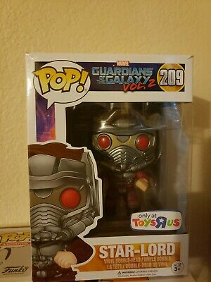 Funko POP! Marvel Vinyl: Star-Lord (GoG Vol.2) Toys-R-Us Exclusive