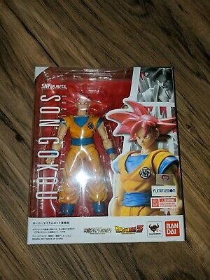 Authentic Tamashii S.H. Figuarts Dragon Ball Super Saiyan God Son Gokou Goku