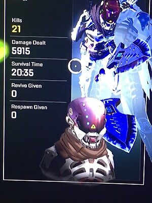 Apex Legends 20 kill/4k Damage Badge for any Legends Xbox/PS4 1 Day Guaranteed