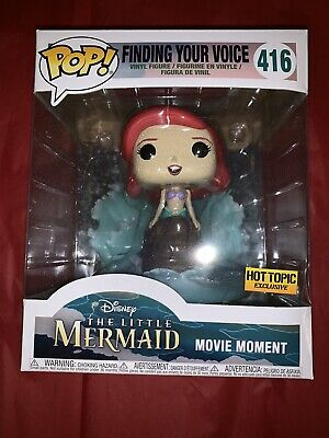 Funko POP DISNEY Little Mermaid Hot Topic Ex * ARIEL 416 FINDING YOUR VOICE RaRe