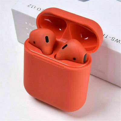 2019 NEW Touch Control RED Bluetooth 5.0 Earbuds Wireless Headphones Earphones F