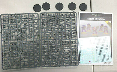 warhammer 40k primaris space marines intercessors new on sprue free shipping