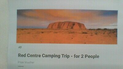 Exciting Red Centre Holiday Camping Trip for 2 people