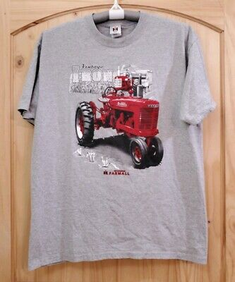 Country Casuals Ath Heather Varsity International Harvester Men/'s T-Shirt