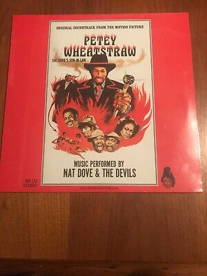 Petey Wheatstraw - The Devil's Son-In-Law LP w/ Rudy Ray Moore(Dolemite) NEW