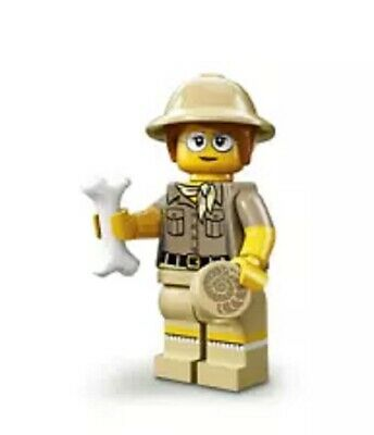 "LEGO MINIFIGURES SERIES 13 (71008) ~ The ""PALEONTOLOGIST"" ~ (SEALED PACK)  2015"