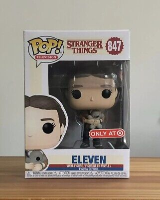 Funko Pop Stranger Things Eleven Target Exclusive With Bear Only At Target