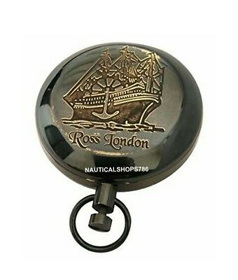 Antique Collectible Rose London Nautical Marine Compass