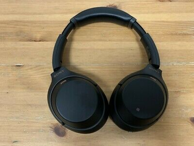 Sony WH-1000XM3 Wireless Noise Cancelling Headphones - Black - as new in box