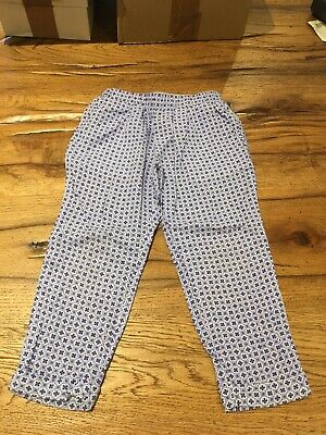 Girls Mayoral Viscose Elasticated Print Trousers Immaculate Age 2 92cm