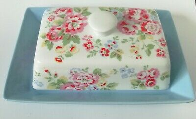 Cath Kidston Spray Flowers Butter Dish and Lid