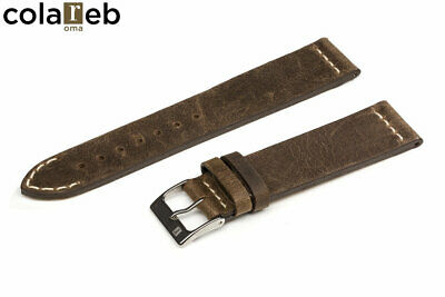 ColaReb Vintage VENEZIA mud  Made in Italy watch strap