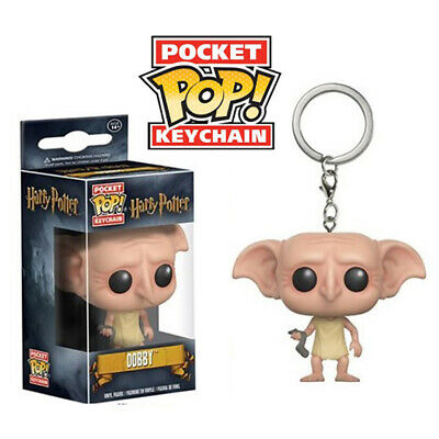 New Funko Pop Dobby Keychain Vinyl Figure Key Chain Toy (1pc)