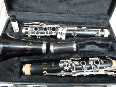 Wooden clarinet Buffet Crampon E11 in Bb - vintage