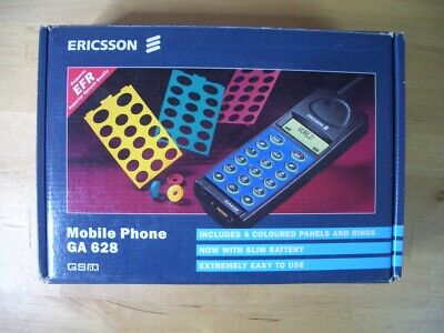 Ericsson Ga 628 Telefono Movil Mobile Cellular Vintage Boxed Con Caja Gsm Ga628