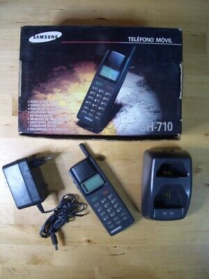 Samsung Sh-710 Vintage Rare Telefono Movil Mobile Phone Sh 710