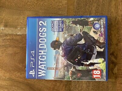 Watch Dogs 2 Playstation 4 PS4 Very Good Condition Will Post First Thing We Morn