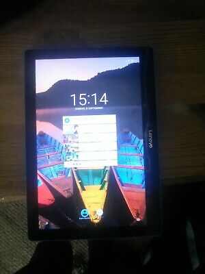 Lenovo Tab E10 10.1 Inch 16GB WiFi Android Tablet - Blue- Spares or repairs