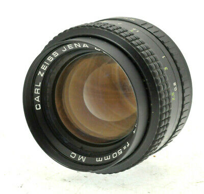 Carl Zeiss Jena DDR Prakticar 50mm f/1.4 Praktica PB fit Lens -