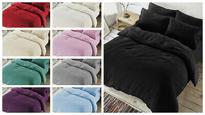 Luxury Teddy Bear Sherpa Fleece Thermal Warm Extra Soft Cosy Winter Beddings