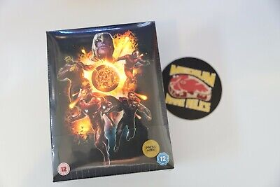 DVD | Avengers: Endgame (3D + 2D Blu-ray Steelbook) Collector's Edition Zavvi