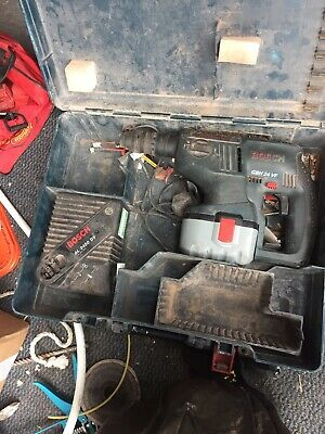 Bosch 24V GBH 24 VF hammer drill  With Case