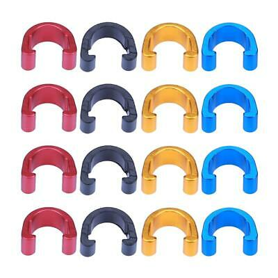 10pcs Bike Bicycle C-Clips Buckle Hose Brake Gear Cable Housing Guide #S5