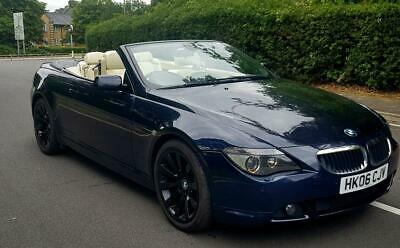 BMW 630 3.0 M Sports Convertible Automatic