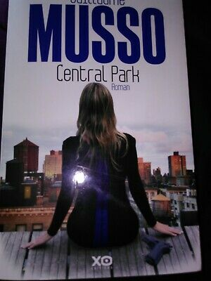 Guillaume Musso Central Park Xo Editions Grand Format Tbe