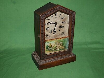 Late 19th Century Union Clock Company Mantle Clock - Read item desciption please