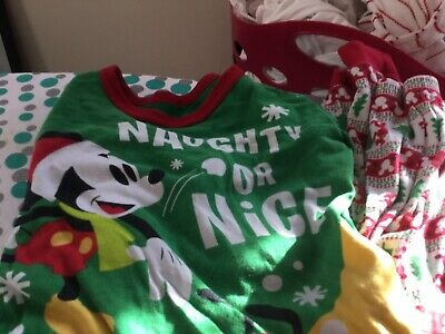 MIckey Mouse PJ's Age 7-8