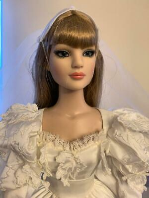 """TONNER AMERICAN MODEL 22"""" DOLL in Gone With The Wind Scarlett's Wedding Outfit"""
