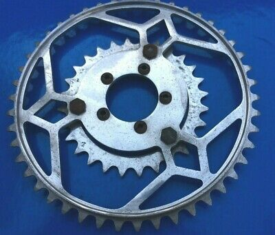Very Rare Nos 1940'S Vintage Stronglight Touriste Chainrings 46T&28T,50.4Mm Bcd