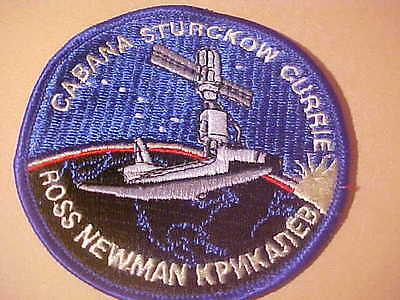Sts-88 Nasa Endeavour Launch Vehicle 3 7/8 In Round Patch Embroided Iron On