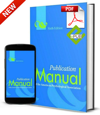 Publication Manual of the American Psychological Association, 6th Edition [PDF]