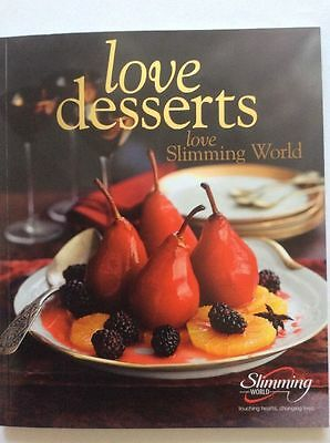 Slimming World Love Desserts -117 Pgs Of Mouth-Watering Low Syn Recipes! Ex Con