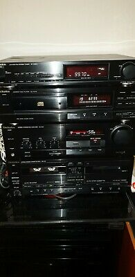 Technics Hi Fi . Amp cd tuner and cassette deck .