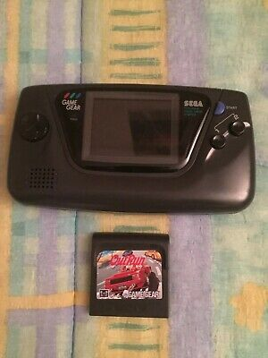 Console Game Gear Sega HS Out Run