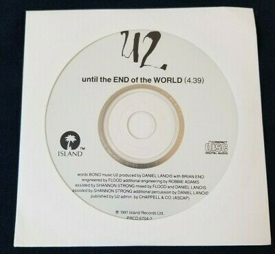 U2 – Until The End Of The World CD - Promo single - PRCD 6704-2
